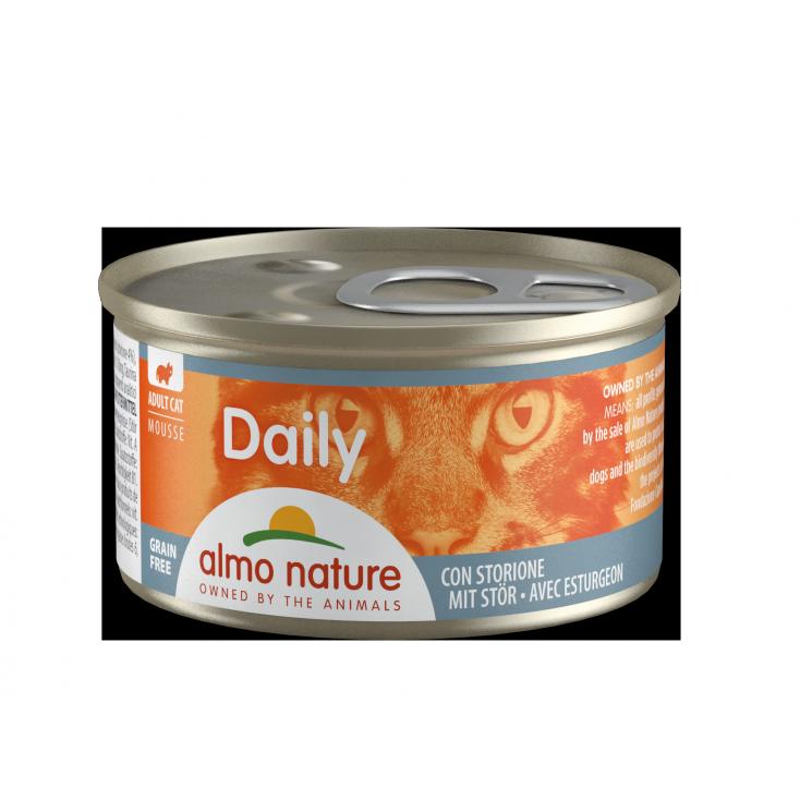 Daily Grain Free mousse esturgeon