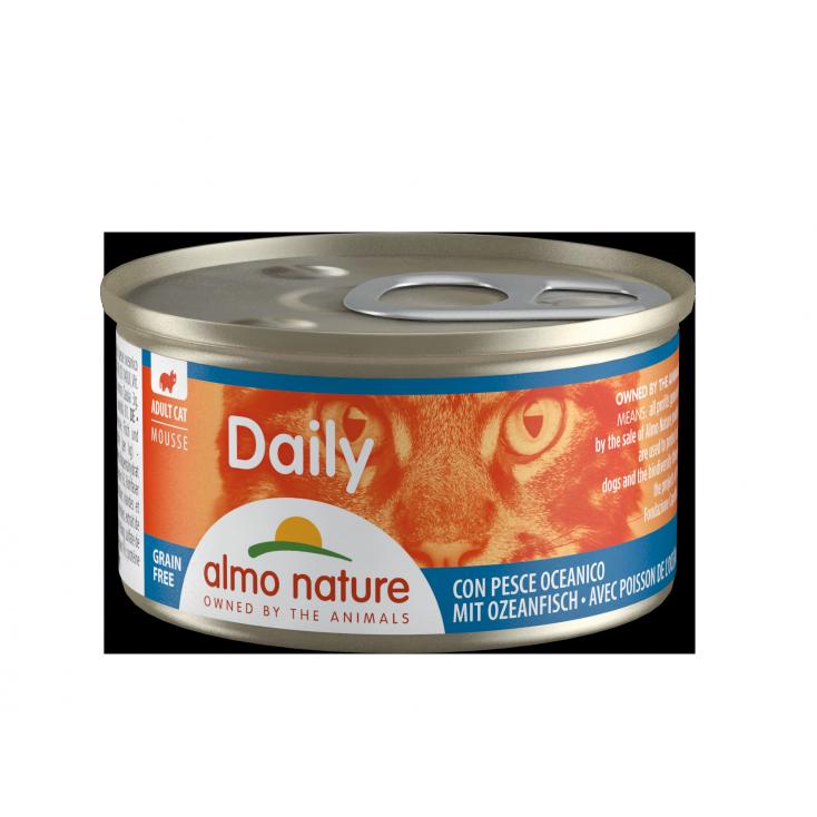 Daily Grain Free mousse poissons de l'océan