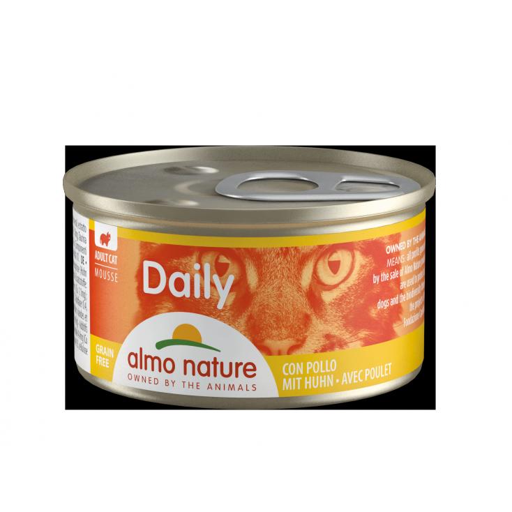 Daily Grain Free mousse poulet