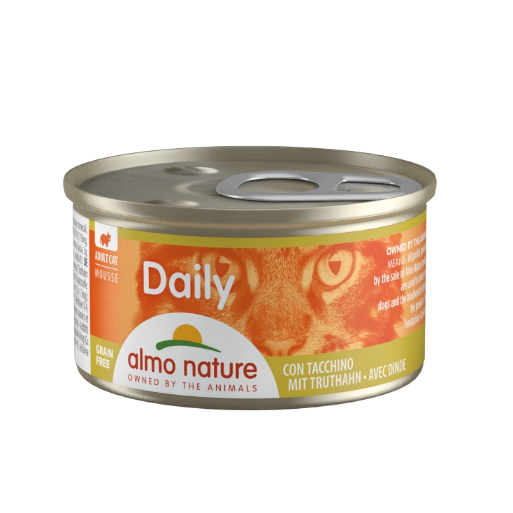 Daily Grain Free mousse dinde