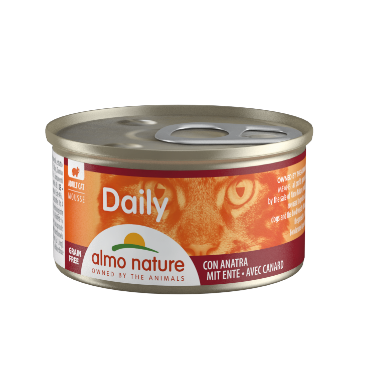 Daily Grain Free mousse canard