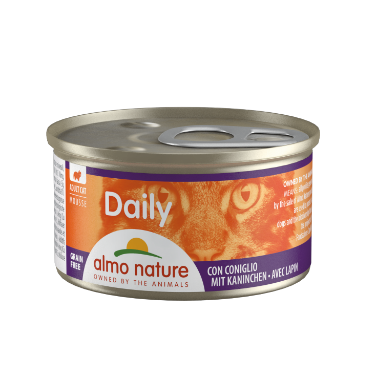 Daily Grain Free mousse lapin