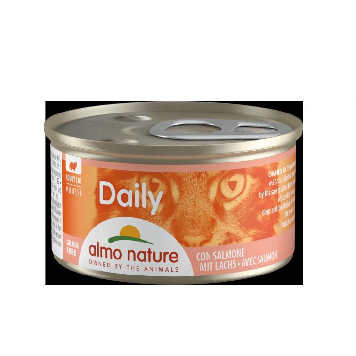 Daily Grain Free mousse saumon