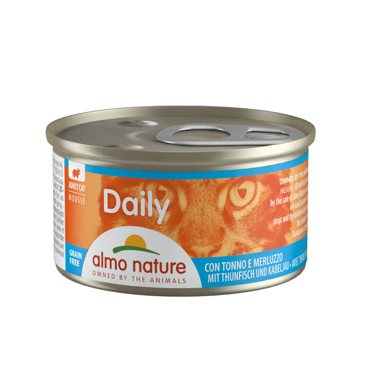 Daily Grain Free mousse thon & morue