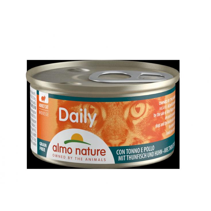 Daily Grain Free mousse thon & poulet
