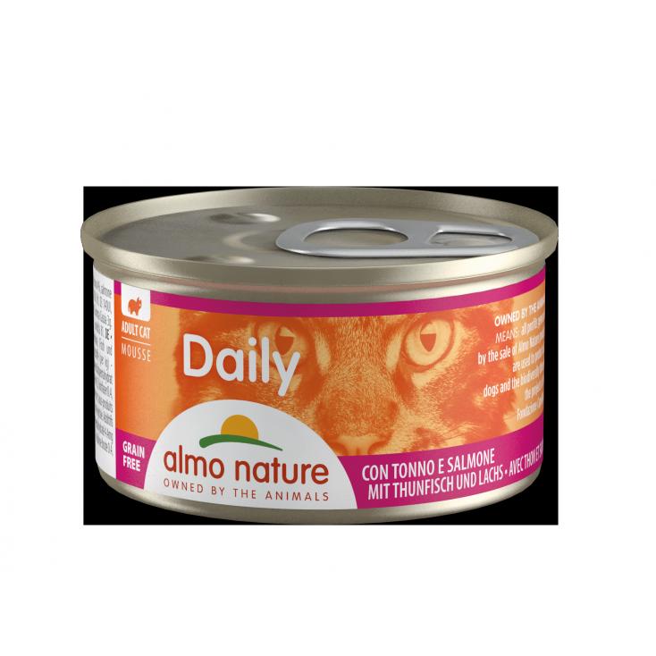 Daily Grain Free mousse thon & saumon