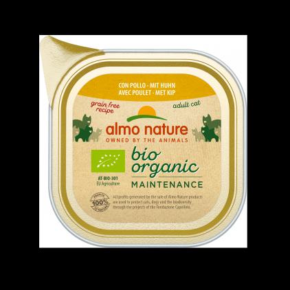 Pâtée Bio organic maintenance pour chats 85g Almo Nature