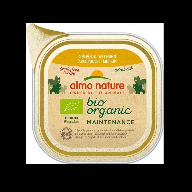 Pâtée Bio Organic Maintenance poulet