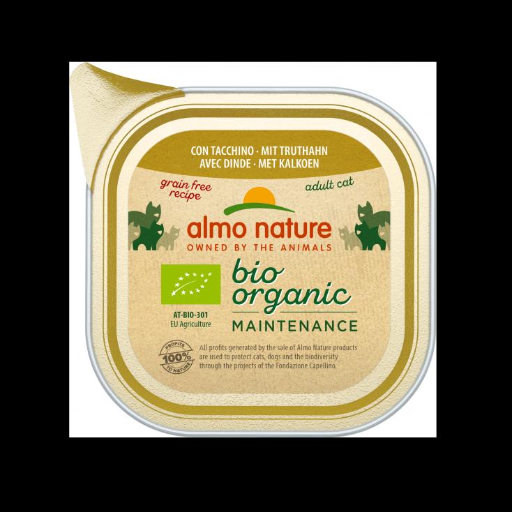 Pâtée Bio Organic Maintenance dinde