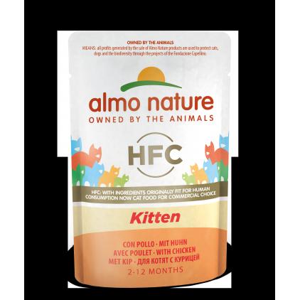 Sachet HFC cuisine chaton (Kitten) Almo Nature