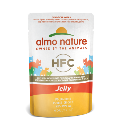 HFC sachets Jelly Adult pour chats Almo Nature