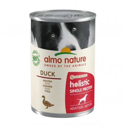 Pâtée pour chiens Holistic single protein digestion 400g Almo Nature