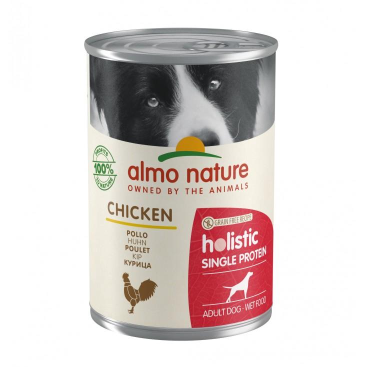 Pâtée pour chiens Holistic Single Protein Poulet
