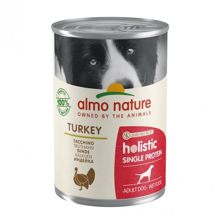 Pâtée pour chiens Holistic Single Protein Dinde