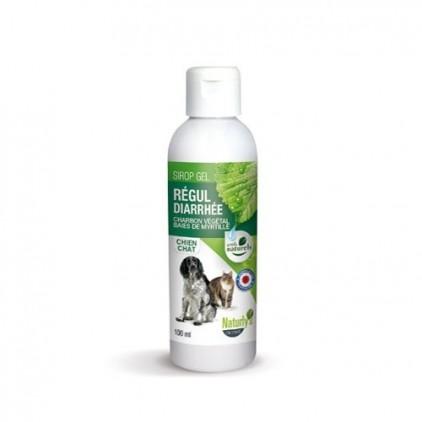 Sirop gel régul diarrhée charbon végétal baies de myrtille Naturly's