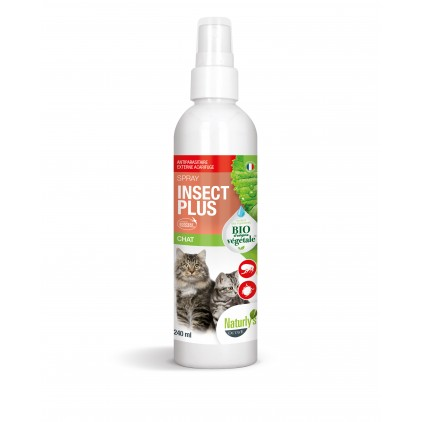 Lotion Insect Plus Bio chats et chatons 240ml