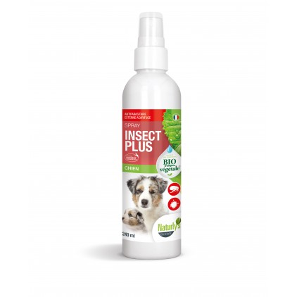 Lotion antiparasitaire chiens Insect Bio Naturly's