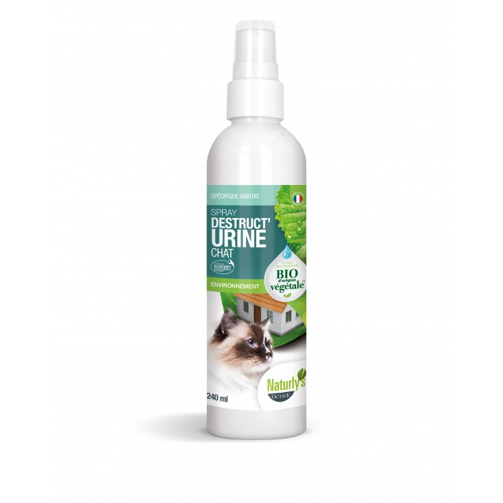 Spray destruct'urine chat bio 240ml -Naturly's