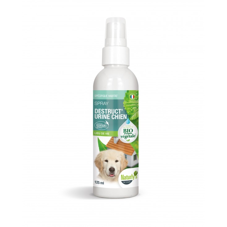Spray destruct'urine chien bio 125ml-Naturly's