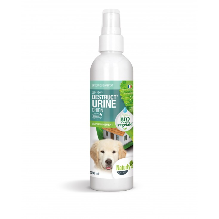Spray destruct'urine chien bio 240ml-Naturly's