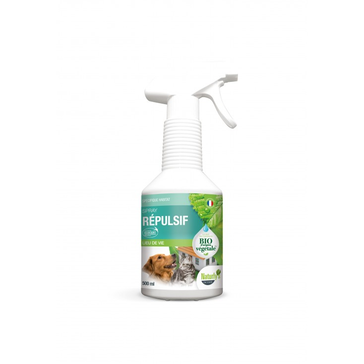 Spray répulsif Lemon Grass bio 500ml - Naturly's