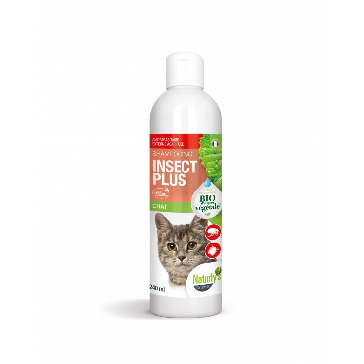 Shampoing insect plus chat Naturly's