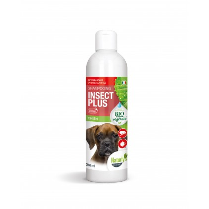 Shampoing Insect plus pour chiens Naturly's