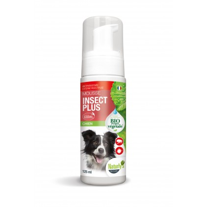 Mousse Insect Plus chiens Naturly's