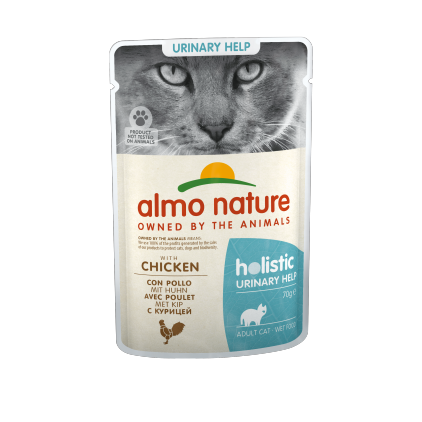 Sachet fraicheur fonctionnel Urinary Support pour chats Almo Nature