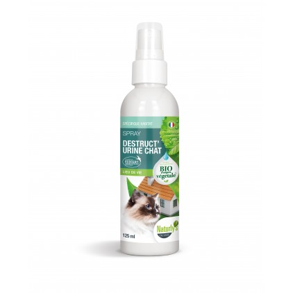 Spray destruct'urine chat bio 125ml -Naturly's