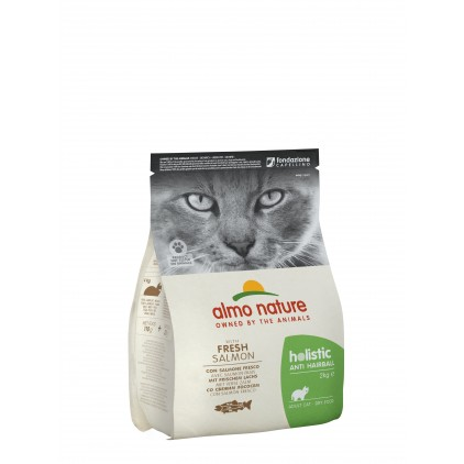 Croquettes pour chats holistic Anti Hairball Almo Nature