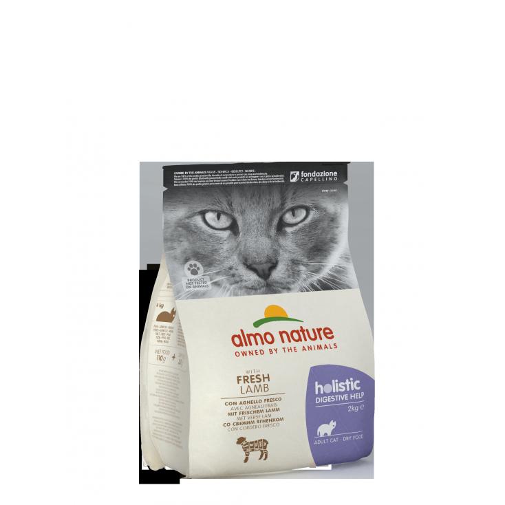 Croquettes Holistic Digestive Help pour chat Almo Nature agneau