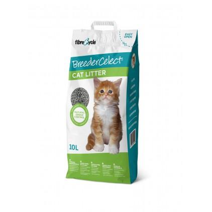 Litière pour chats BreederCelect papier recyclé