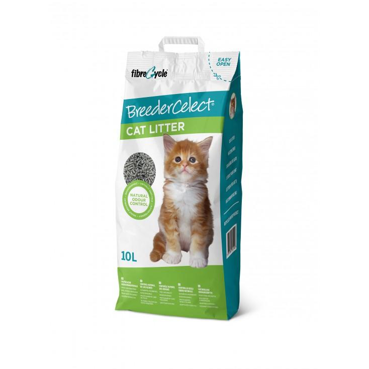 Litière pour chats Breeder's Celect Octave 10L