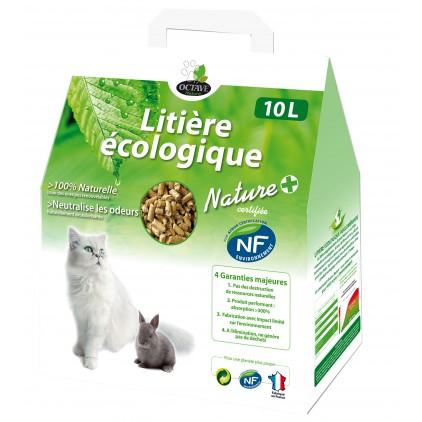 Litière écologique végétale Nature + Octave