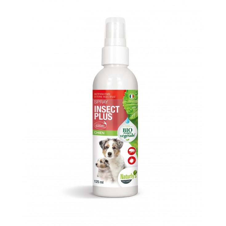 Lotion Insect Plus Bio chiens et chiots 125ml Naturly's