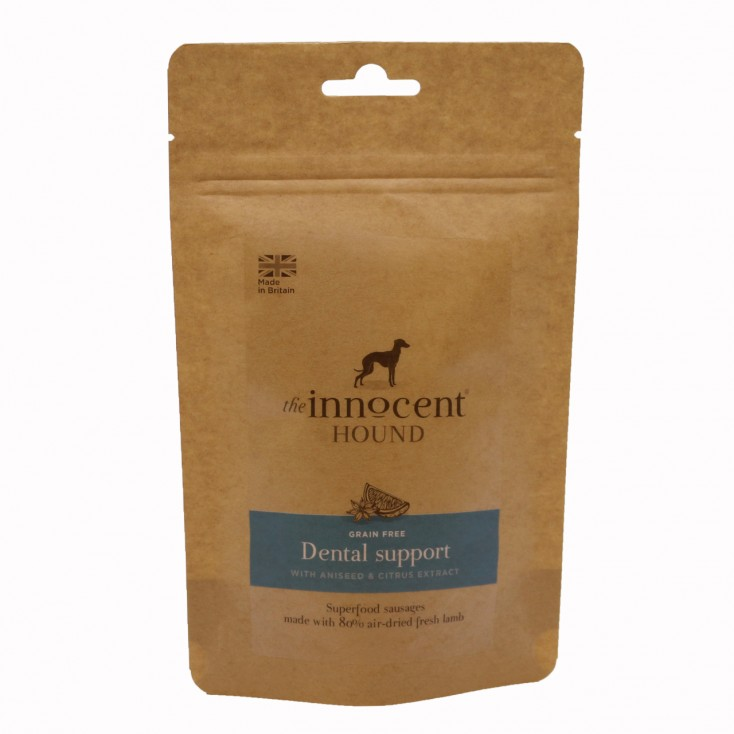 Friandises saucisses dental support The Innocent Hound