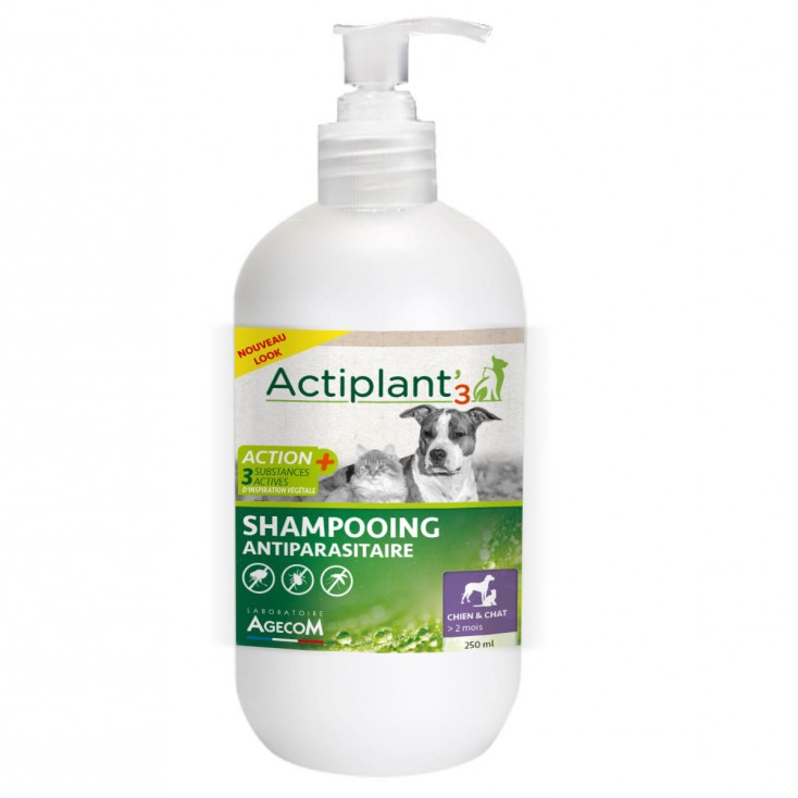 Shampoing antiparasitaire Actiplant new