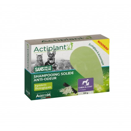 Shampoing solide anti odeur Actiplant'