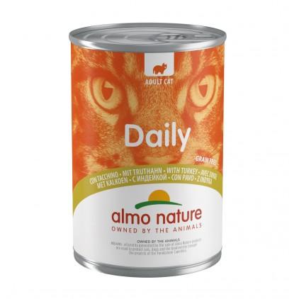 Boites pour chats Sans Céréales 400g Daily Almo Nature