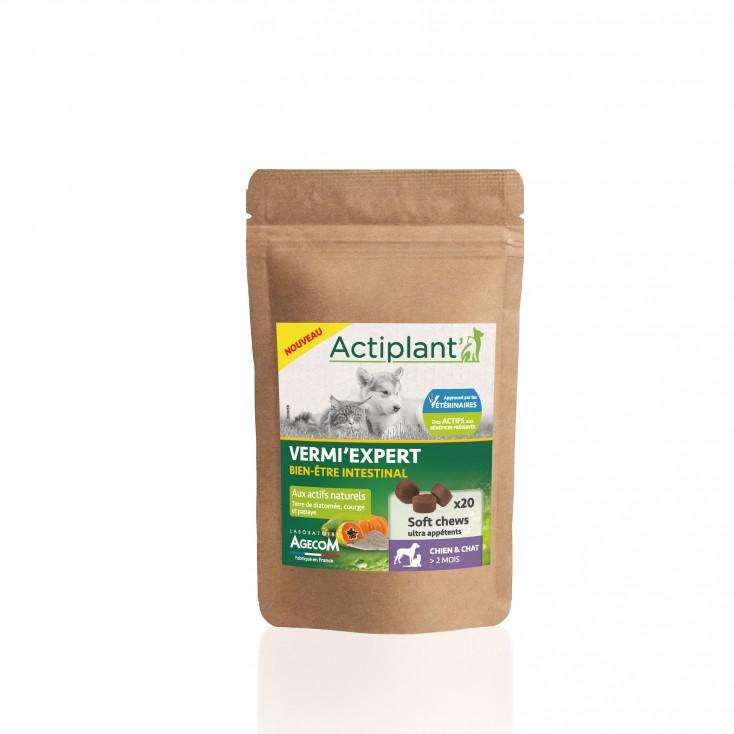 Soft Chew Vermi-Expert Actiplant'