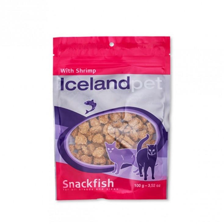 Friandises chat saveur crevette Iceland Pet