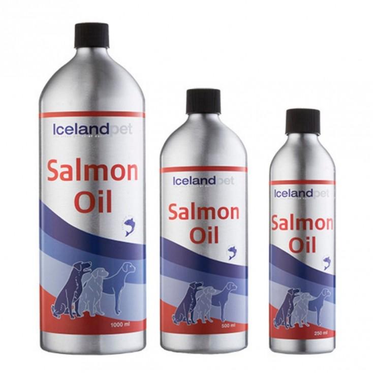 Huile de Saumon Iceland Pet