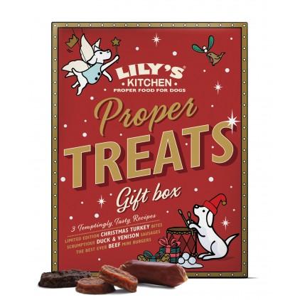 Boîte friandises de Noël chien Lily's Kitchen