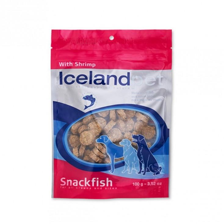 Friandises chien Iceland Pet Original Crevettes
