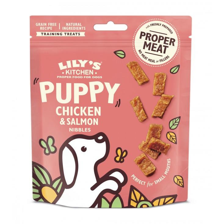 Friandise pour chiot poulet et saumon Lily's Kitchen