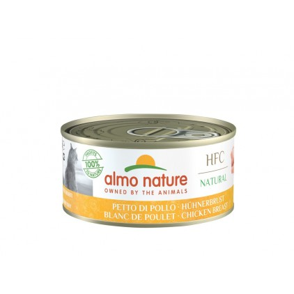 Boites 150g chat Almo Nature HFC Natural