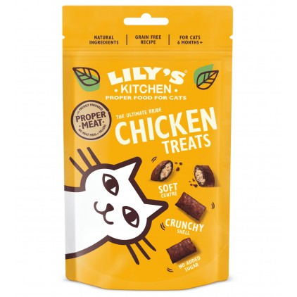 Friandises chat Lily's Kitchen au poulet