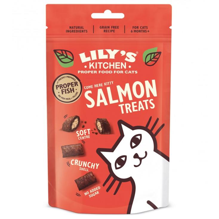 Friandises chat au saumon Lily's Kitchen