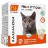Comprimés puces et tiques au saumon pour chats - Biofood